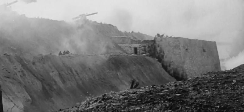 Кадры фильма, снятые в Арабатской крепости