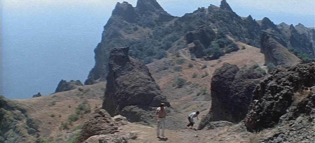 Кадры фильма, снятые на Карадаге