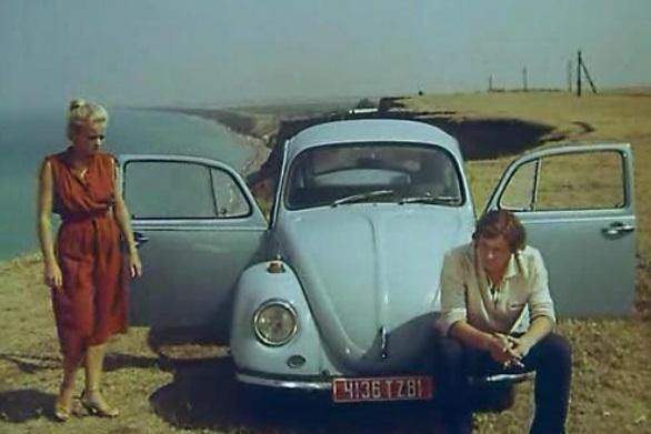 Кадр из фильма Шофер на один рейс, район Качи
