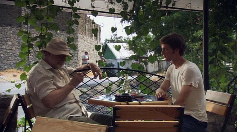 Один из главных героев фильма Ваня в кафе в Феодосии