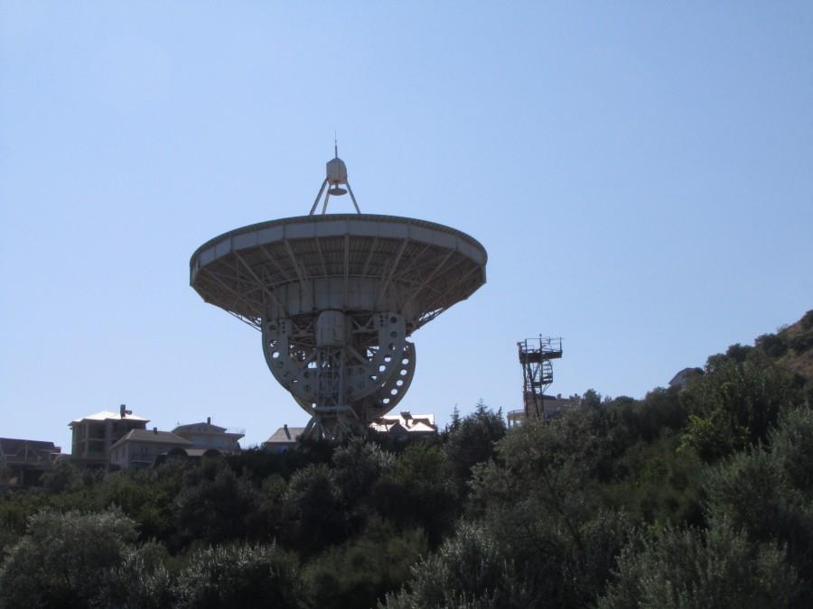 Радиотелескоп в поселке Кацивели