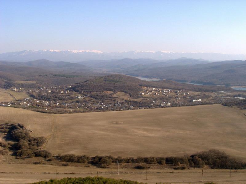 Село Каштановое в прошлом Саблы, Симферопольский район