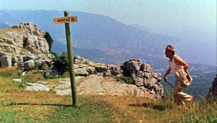 Съемки эпизода происходят на горе Ай-Петри