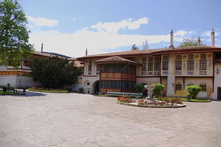 Ханский дворец в Бахчисарае - место съемки фильма Роксолана