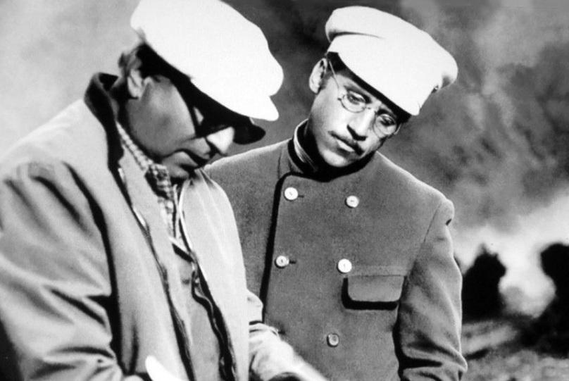 Хейфиц и Высоцкий