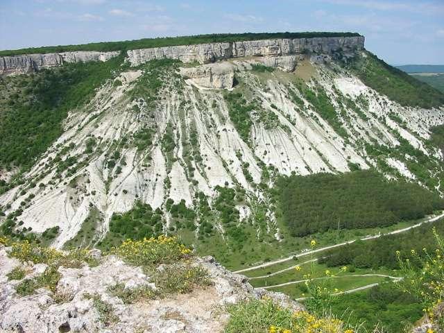 Гора Утюг в Крыму