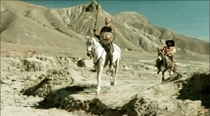 Дон Кихот. Съемки в Крыму