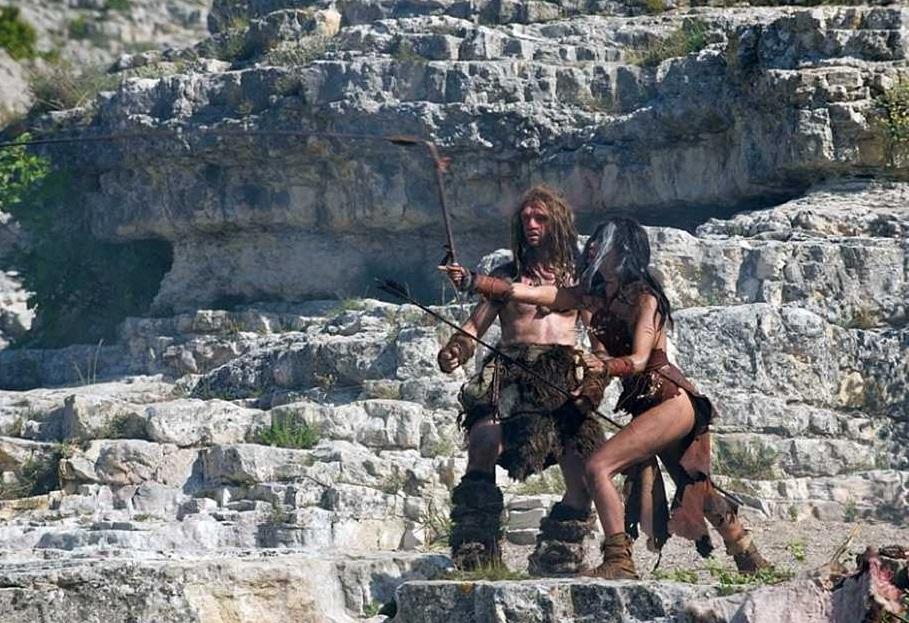 Кадры фильма Последний неандерталец, снятые в Крыму