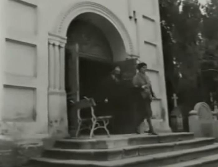 Съемки в Храме Всех Святых на городском кладбище Симферополя