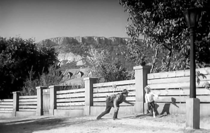 Съемки в селе Куйбышево
