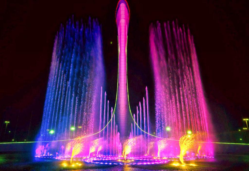 Сочинские фонтаны