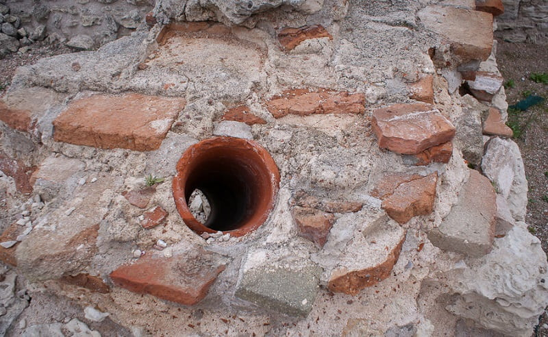 Древний водопровод в Севастополе