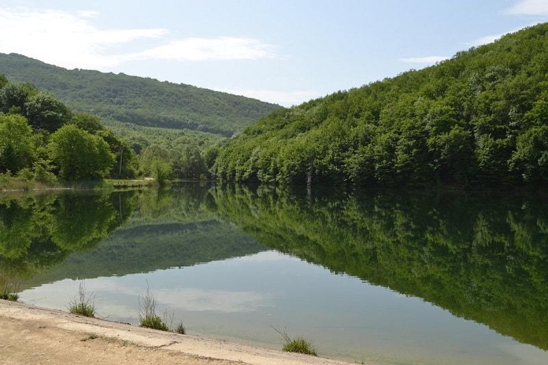 Озеро в Керменчике