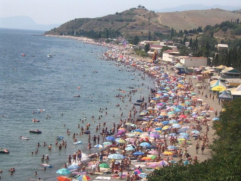 Пляжный отдых в Алуште