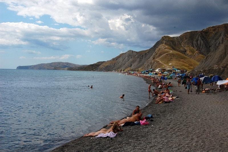 Пляж Лисьей бухты