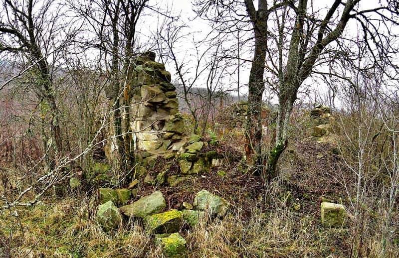 Руины деревни Стили
