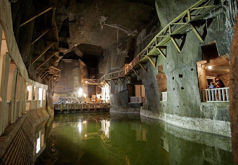 Соляная шахта в Величке