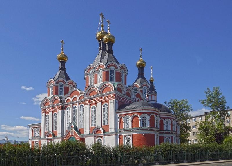 Спасо-Преображенский собора города Кимры