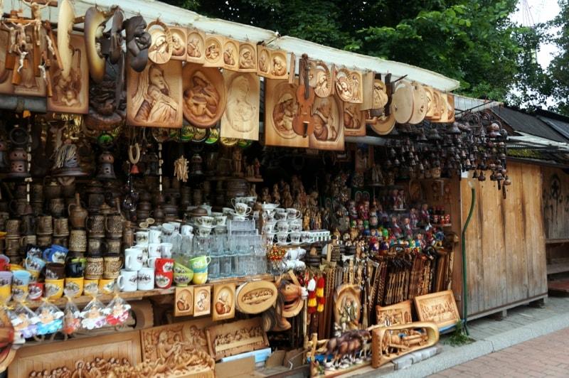 Сувенирная лавка в Закопане
