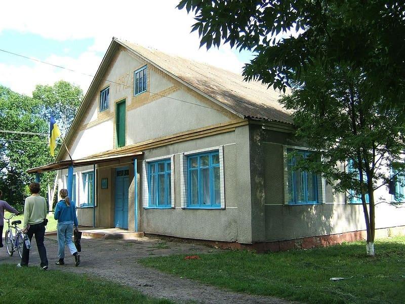 Школа в Криворудке