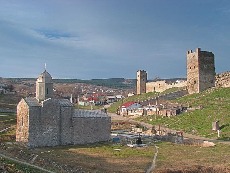 Крепость Кафа. Феодосия
