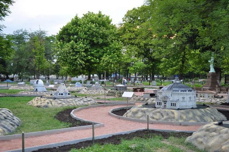 Парк миниатюр. Бахчисарай.