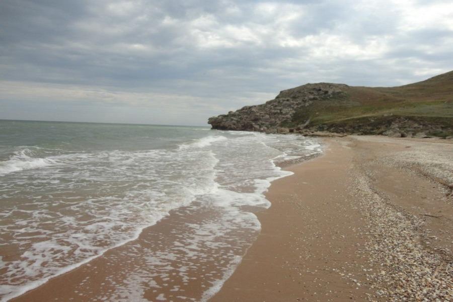 Песчаные пляжи азовского Крыма