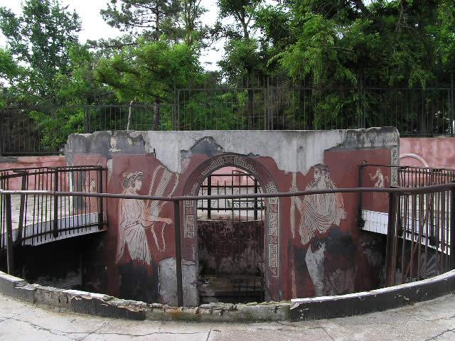 Останки древнего города Керкинитида в Евпатории