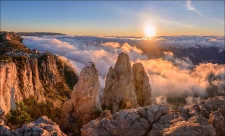 Гора Ай-Петри – самая высокая точка Крымского полуострова