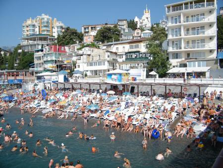 Отдых в Крыму. Ялта как молодёжный курорт